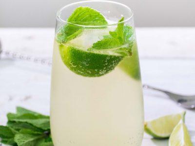 Ľadový zelený čaj